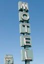 Motel sign Royalty Free Stock Photo