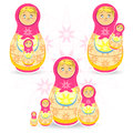 Mother's Day Matryoskha Royalty Free Stock Photo