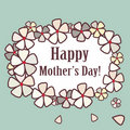 Mother�s Day card Royalty Free Stock Photography
