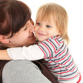 Mother with baby in her arms Stock Photography