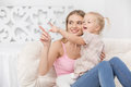 Mother and Child Parenting Motherhood Love Care Concept Royalty Free Stock Photo
