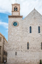 Mother church in conversano south of italy Stock Photos