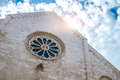 Mother church in conversano south of italy Stock Image