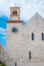 Mother church in conversano south of italy Stock Photo