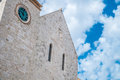 Mother church in conversano south of italy Stock Images