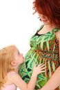 Mother Daughter Baby Royalty Free Stock Image