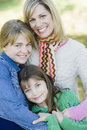 Mother and Daughters Stock Image
