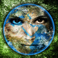 Mother Earth Royalty Free Stock Photo