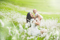 Mother and her baby having fun together outdoor Royalty Free Stock Photo