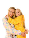 Mother and her daughter Stock Image