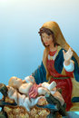 Mother Mary and Baby Jesus Royalty Free Stock Photography