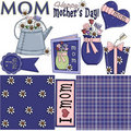 Mother's Day Clipart 2 Stock Photo