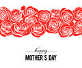 Mother`s day greeting card. Vector