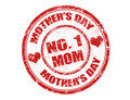 Mother's day stamp Royalty Free Stock Photo