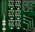Motherboard, vector Royalty Free Stock Image