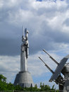 Motherland Monument Stock Photography