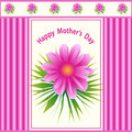 Mothers day flower design Stock Photo