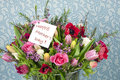 Mothers day flowers Stock Photography