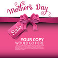 Mothers day sale background eps vector illustration for greeting card ad promotion poster flier blog article social media Stock Image