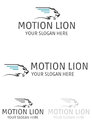 Motion Lion Logo