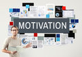 Motivation Aspiration Enthusiasm Incentive Inspire Concept Royalty Free Stock Photo