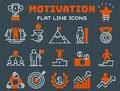 Motivation concept chart icon business strategy development design and management leadership teamwork growth career idea Royalty Free Stock Photo