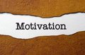 Motivation concept close up of Stock Photography