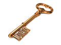 Motivation - Golden Key. Royalty Free Stock Photo