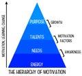 Motivation hierarchy