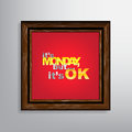 Motivational background it is monday but it is ok Stock Images