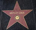 Motley Crue star on the Walk of Fame Royalty Free Stock Photo