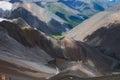 Motley mountains Royalty Free Stock Photo