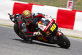 Moto GP Racing - Alvaro Bautista Royalty Free Stock Images