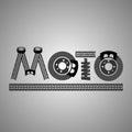 Moto Lettering Image