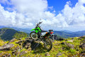 Motocross adventure sport thailand mountains Royalty Free Stock Images