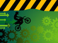 Motocross background Royalty Free Stock Image