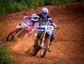 Motocross Championship Royalty Free Stock Photo