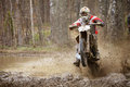 Motocross madness Royalty Free Stock Photo