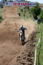 Motocross,Nikolay Kumanov-151. Royalty Free Stock Photos