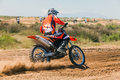 Motocross race alex polis greece may second northern greece took place in the area ground in apalos village with the Royalty Free Stock Photo