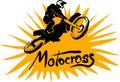 Motocross Vector Picture