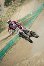Motocross World Championship MX3 and WMX, Slovakia Royalty Free Stock Photo