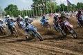 Motocross World Championship MX3 and WMX, Slovakia Royalty Free Stock Photo