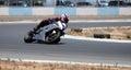 Motocycle racing Stock Photography