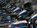 Motocycles de police 2 Photo stock