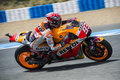 MOTOGP 2015, Marc Marquez Royalty Free Stock Photo