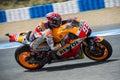 MOTOGP 2015, Marc Marquez Royalty Free Stock Photo