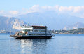 Motonave Traghetto at Lake Maggiore, Laveno Royalty Free Stock Photo