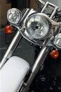 Motor bike detail Royalty Free Stock Photo
