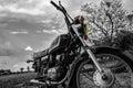 The motor bike